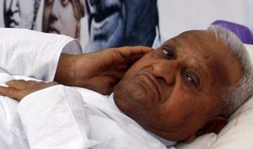 hazare advised 2 day rest to leave for delhi on...