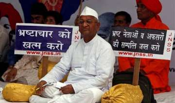 hazare asks supporters to stage rallies flag...