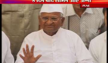 hazare discharged from hospital advised month s...
