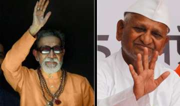 anna hazare should introspect says bal thackeray...