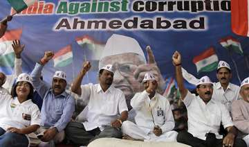 hazare supporters stage protests - India TV