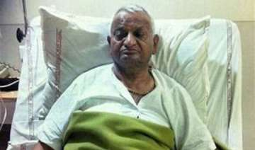 hazare to be discharged from hospital tomorrow -...