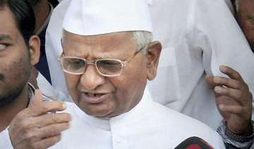 hazare to stage dharna outside homes of sonia...