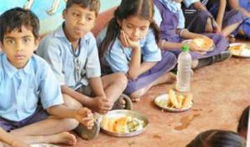 headmaster arrested for selling mid day meal rice...