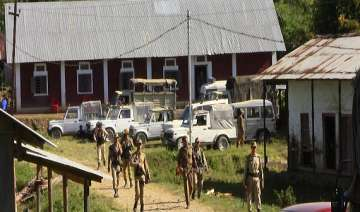 heavy police force deployed in manipur ahead of i...
