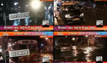 heavy rains cripple life in mumbai - India TV