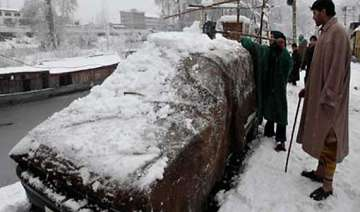 heavy snowfall in kashmir pok - India TV