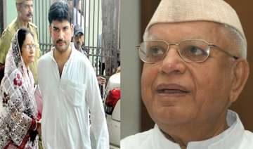 high court says n d tiwari should be compelled to...