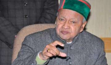 himachal cm raises state issues with pm fm -...