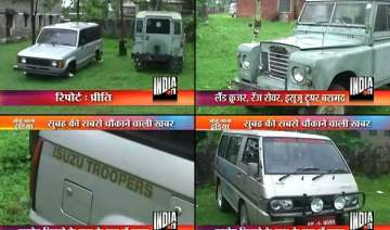 himachal police seizes four vehicles from karmapa...