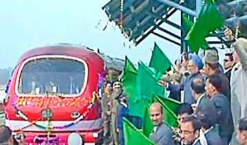 historic train between india and kashmir valley...