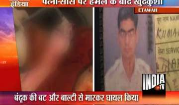 iaf officer kills wife in up commits suicide on...