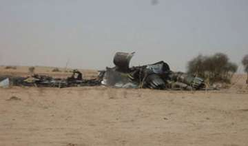 iaf sukhoi fighter crashes both pilots bail out...