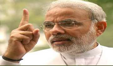 i will not break down nor bow out says modi -...