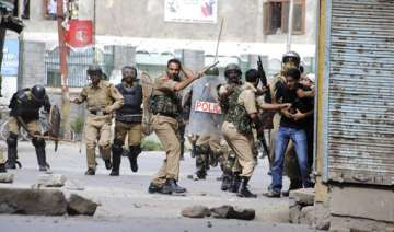 incidents of arson in budgam extra forces rushed...