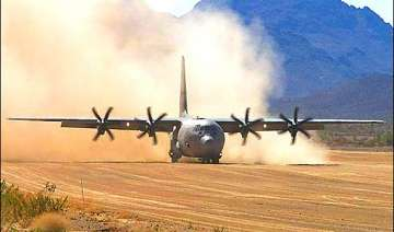 india dares china iaf lands super hercules plane...