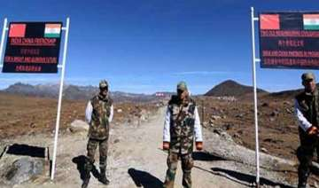 chinese military guarded on lac standoff ahead of...
