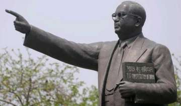 br ambedkar s statue vandalised in punjab - India...