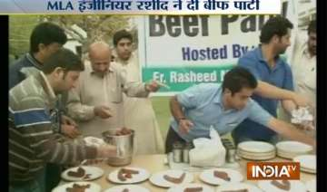 to defy hc order j k mla hosts beef party - India...