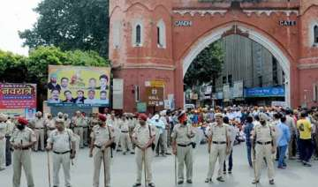 punjab remains on boil paramilitary forces stage...
