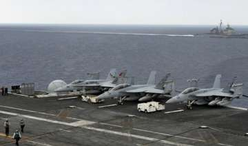 in pics india us and japan hold naval exercises...