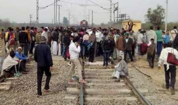 over 1000 trains hit by jat stir in north india -...