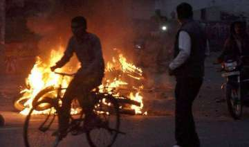 curfew imposed army called in as jat protesters...