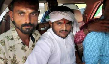 police to file fir against hardik patel for...
