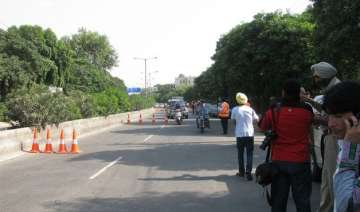 traffic violators presented with roses on new...
