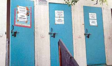 not even half of anganwadi centres have toilets -...