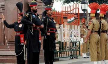 bullet proof screens installed at attari wagah...