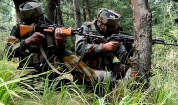 pakistan rangers fire on border out posts in...