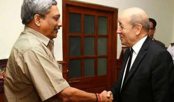 rafale deal french defence minister to meet...