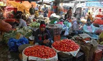 delhi vegetable prices rise again unseasonal rain...