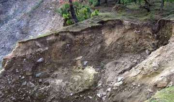 earthquake triggers landslides in sikkim - India...