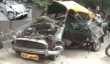 one killed as politician s mercedes smashes up a...