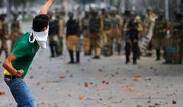stone pelting valley youths using facebook...