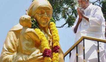 mother teresa s 105th birth anniversary observed...