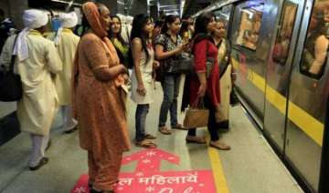 dmrc changes location of reserved women coach on...
