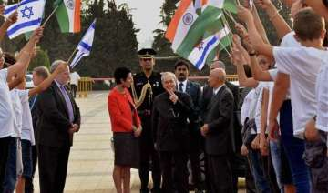 india voices distress over israel palestinian...