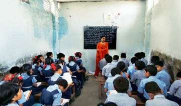 54 gujarat state run schools running without...