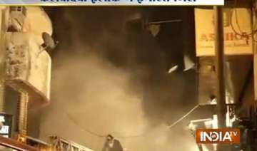 building collapses in south mumbai two fire men...