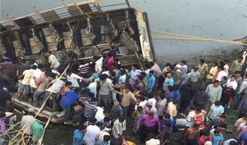 at least 36 dead 25 injured as bus plunges into...