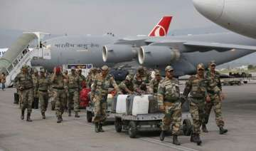 mammoth relief operation on by india in nepal -...