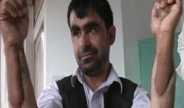 afghan military captain gets indian hands in...