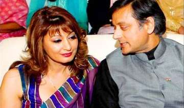 divorcee tharoor set to marry sunanda on aug 17 -...