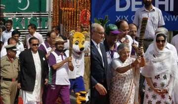 commonwealth games relay baton arrives in india -...