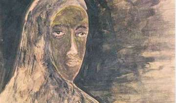 12 tagore paintings sold off at london auction -...