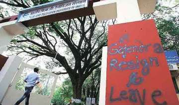 ftii students to stage demonstration in delhi...