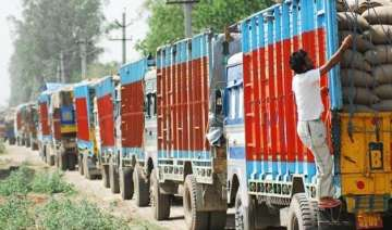 truckers proceed on a nationwide strike against...